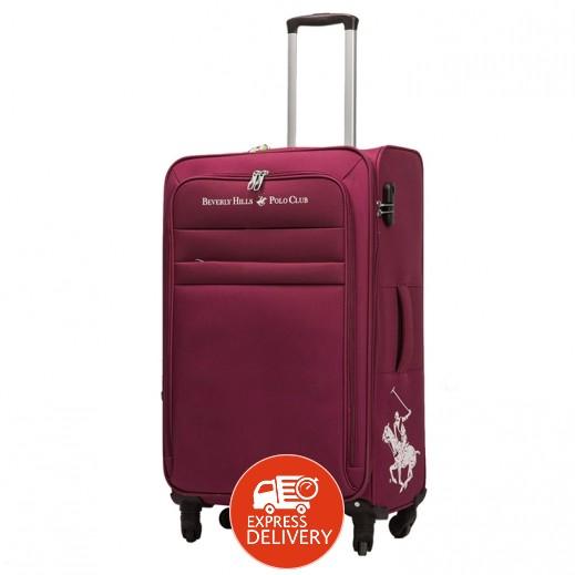 dc93a7a8a4d8d اشتري بولو - حقيبة سفر أوبتيما 4 عجلات حجم متوسط - أحمر