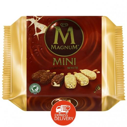 والز ماجنوم – آيس كريم ميني بطعم اللوز الأبيض 6×60 مل