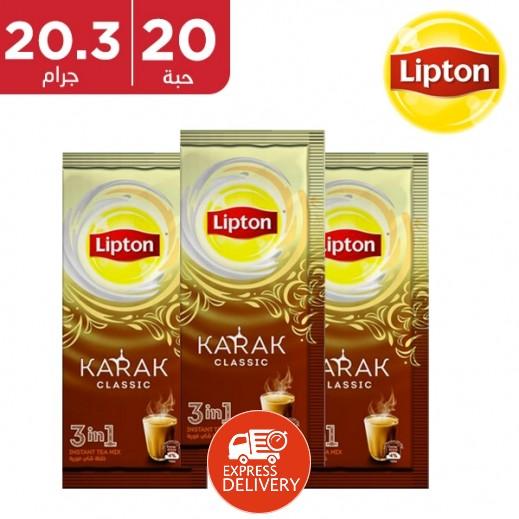 ليبتون - شاي لاتيه كلاسيك 20 × 20.3 جم