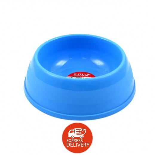 سليكي - وعاء طعام للكلاب بلاستيك متوسط الحجم