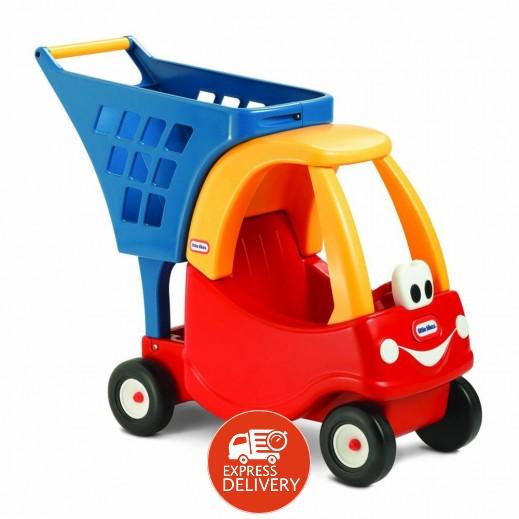 """ليتل تايكس – سيارة وعربة التسوق """" كوبيه """" للأطفال"""