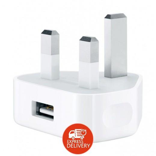 ابل – محول الطاقة USB 5 واط – ابيض