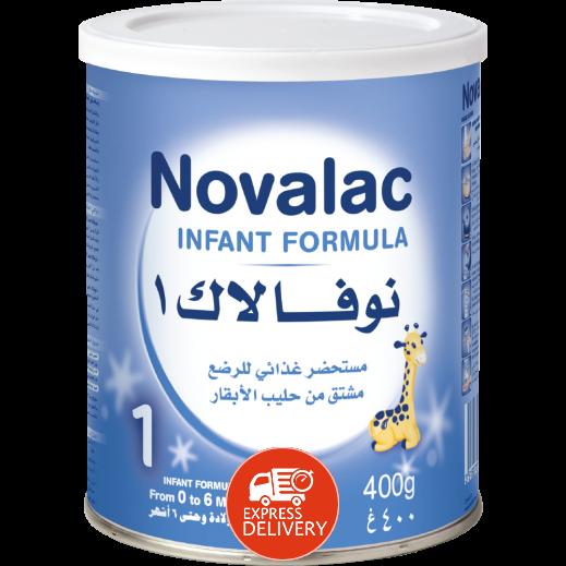 نوفالاك 1– مستحضر غذائي للرضع من الولادة حتى 6 أشهر 400 جم
