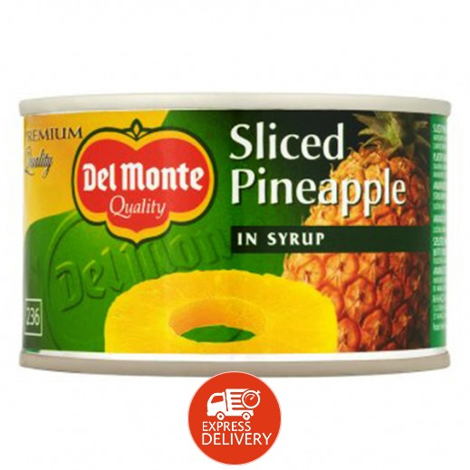دل مونتي – شرائح الأناناس (في عصير مركّز) 235 جم