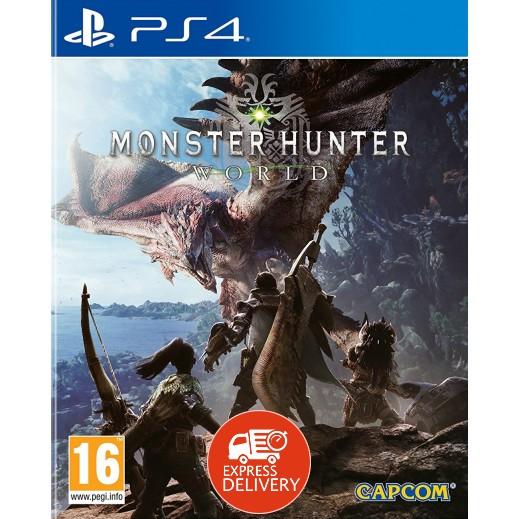 لعبة Monster Hunter: world لجهاز بلاي ستيشن 4 – نظام PAL