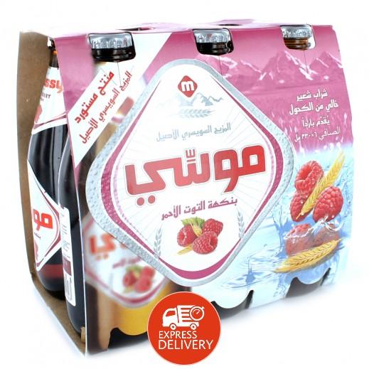 موسي – مشروب الشعير بنكهة الفراولة 330 مل ( 6 حبة )