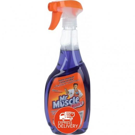 مستر ماسل - منظف الزجاج والنوافذ برائحة الخزامي 750 مل