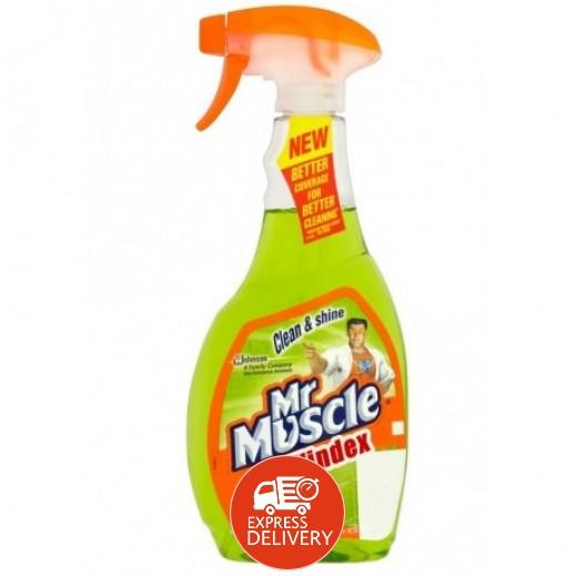 مستر ماسل - منظف الزجاج والنوافذ بالليمون 750 مل