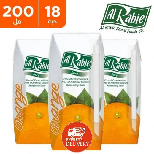الربيع - عصير البرتقال نكتار 200 مل (18 حبة)