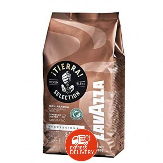 لافتزا - حبوب قهوة تييرا 1 كجم