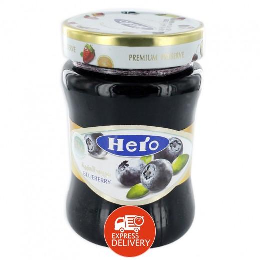 هيرو – مربى التوت الأزرق 340 جم