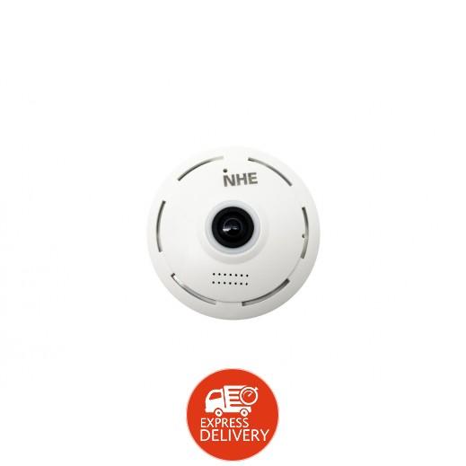 إن إتش إي – كاميرا زاوية واسعة للمراقبة -1.3MP – أبيض