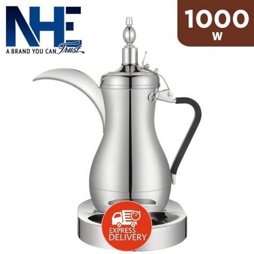 إن إتش إي - دلة القهوة العربية الكهربائية سعة 1 لتر 1000 واط - فضى