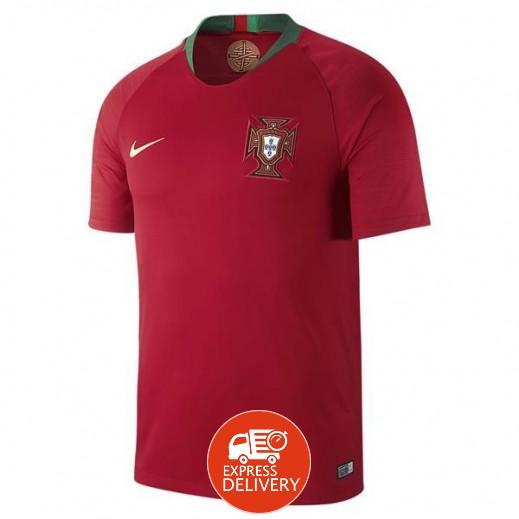 نايك - تى شيرت منتخب البرتغال 2018 لكرة القدم – مقاس رجالي S إلى XXL