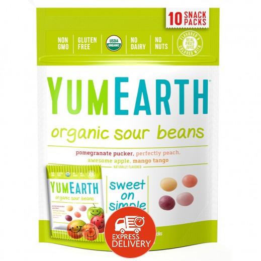 يامي إيرث – حلوى عضوية طبيعية بنكهة الحمضيات 198 جم