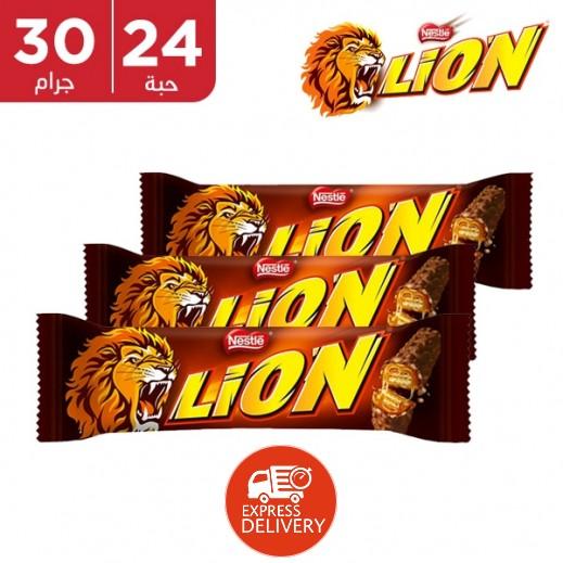 ليون - شوكولاتة ليون 24 × 30 جم