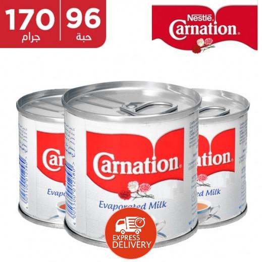 كارنيشن – حليب مبخر 170 جم × 96 حبة