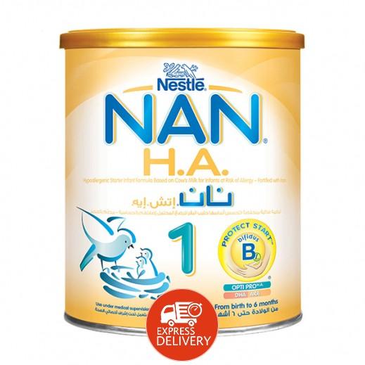 نان - غذاء حليب  إتش. إيه للرضُع بالحديد 400 جرام مرحلة 1 (من الولادة حتى 6 أشهر)