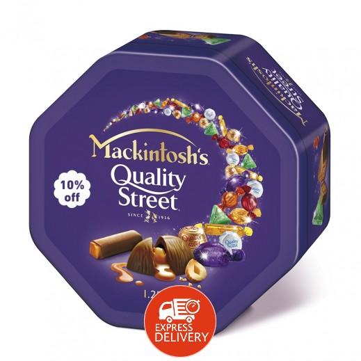"""ماكنتوش – شوكولا """" كواليتي ستريت """"  850 جم (10% خصم)"""