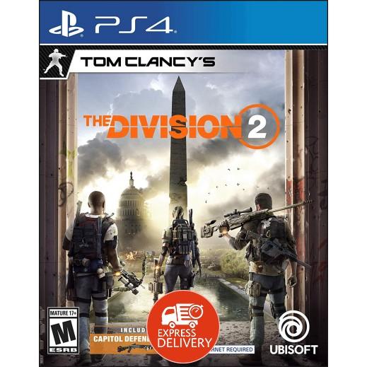 لعبة Tom Clancy's The Division 2 لجهاز بلاي ستيشن 4 – نظام NTSC