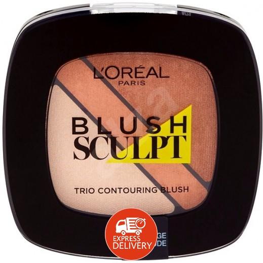 لوريل باريس – بودرة حمراء للخدود  لون 102 Nude Beige