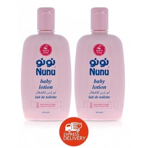 نونو – لوشن للأطفال 300 مل (1+1 مجاناً)