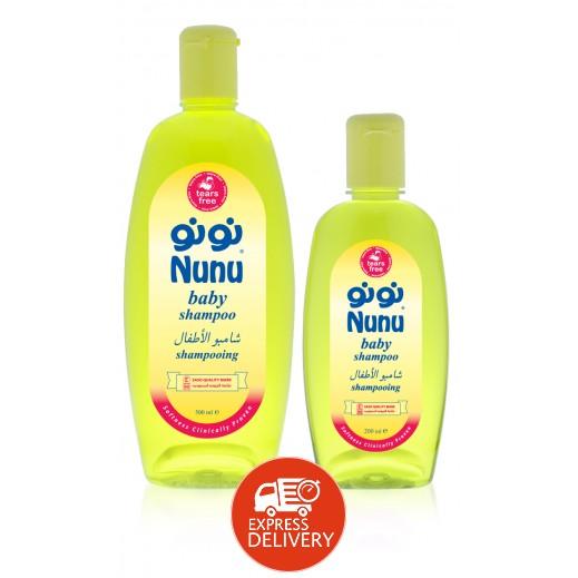 نونو – شامبو للأطفال 500 مل + 200 مل مجاناً
