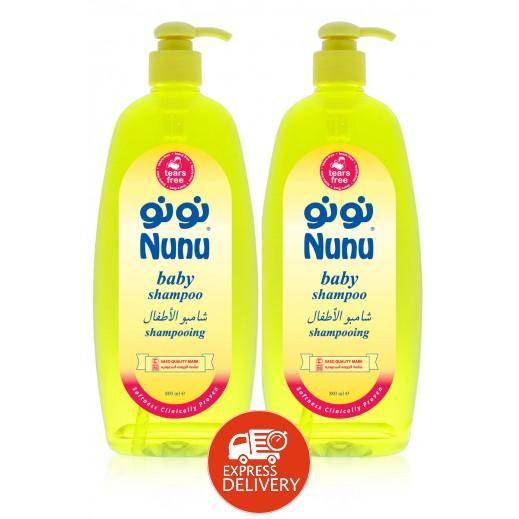نونو – شامبو للأطفال 800 مل (1+1 مجاناً)