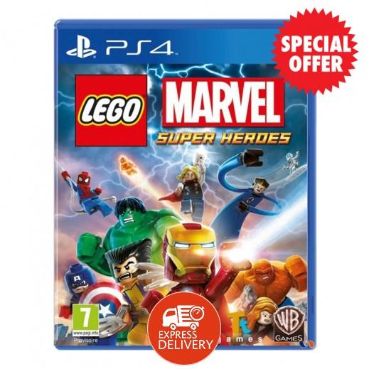 لعبة LEGO Marvel Super Heroes بلاي ستيشن 4 – NTSC