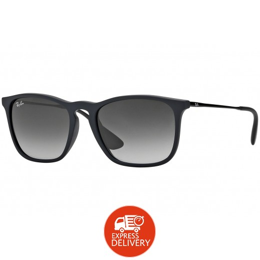 18c5e16da0720 اشتري راي بان – نظارة شمسية لكلا الجنسين موديل Rb4187 رمادي 54 مم ...