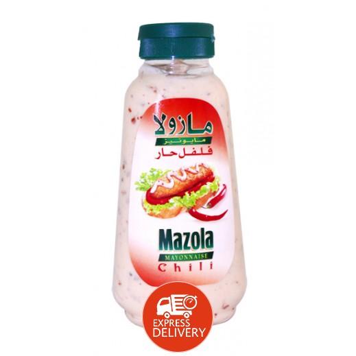 مازولا - مايونيز فلفل حار 340 مل