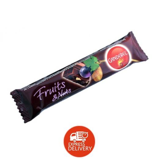 كاندريل - شوكولاتة الحليب بالفواكة والمكسرات 27 جم