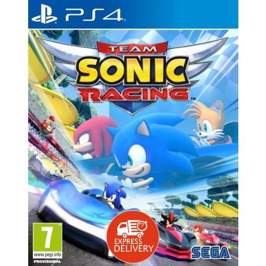 لعبة Team Sonic Racing لجهاز بلاي ستيشن 4 – نظام PAL