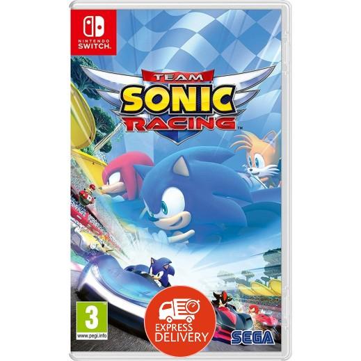 لعبة Team Sonic Racing لجهاز نايتندو سويتش – نظام PAL