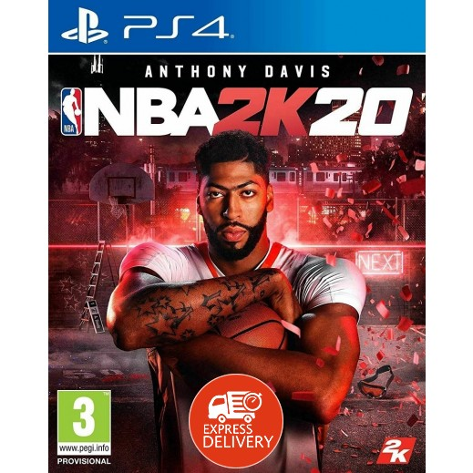 لعبة NBA 2K20 لجهاز بلاي ستيشن 4 – نظام PAL