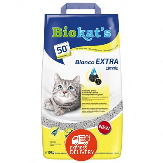 بايو كاتس – تراب فضلات القطط بيانكو 10 كجم