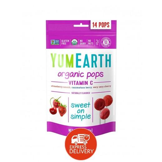 يامي إيرث – حلوى عضوية بفيتامين سي 85 جم