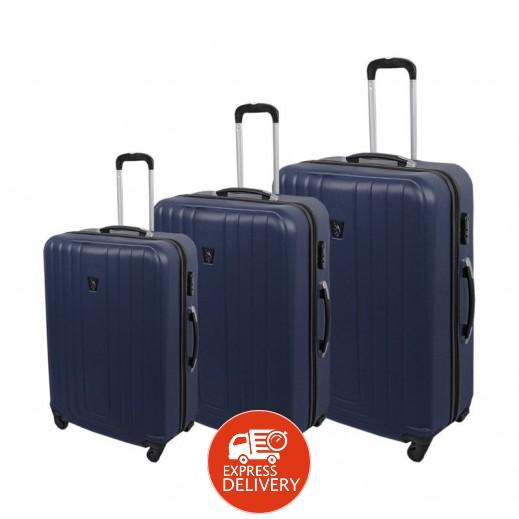 7db5bec7c اشتري يو إس بولو – طقم حقائب سفر 3 حبة – أزرق | توصيل Taw9eel.com