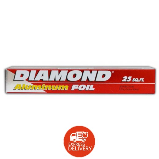 دايموند - ورق ألمونيوم حراري 25 قدم مربع