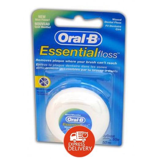 أورال- بي – خيط تنظيف الأسنان الذي ينصح به الأطباء - 50 متر