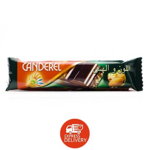 كاندريل - شوكولاتة الحليب باللوز والهش 27 جم