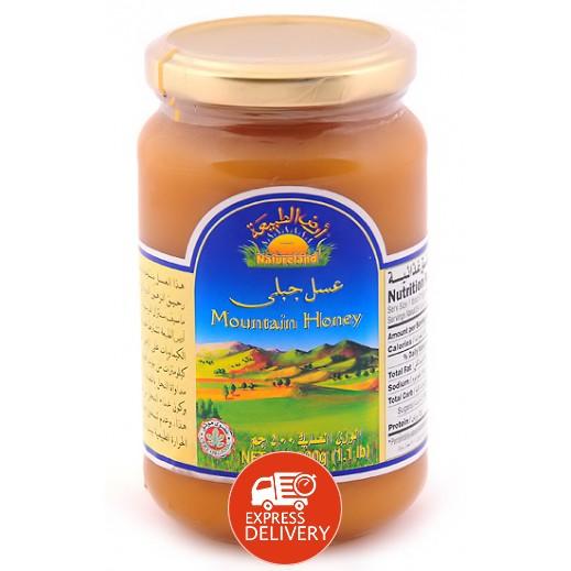 أرض الطبيعة - عسل جبلي 500 جم