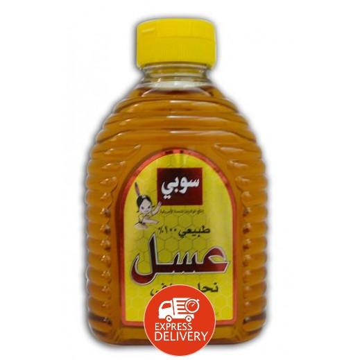 سوبي - عسل نحل طبيعي صافي 454 جم
