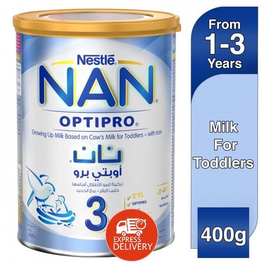 نان - غذاء حليب 3 لمرحلة نمو الأطفال مزود بالحديد مرحلة 3 (من 1-3 أعوام)