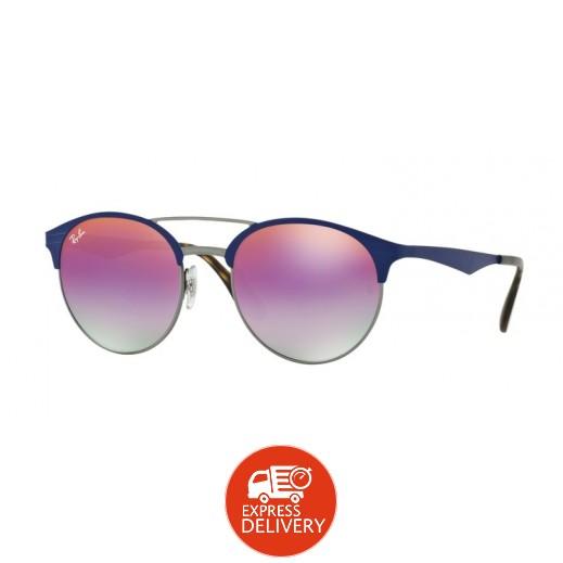 راي بان – نظارة شمسية لكلا الجنسين أزرق فاتح 51 مم