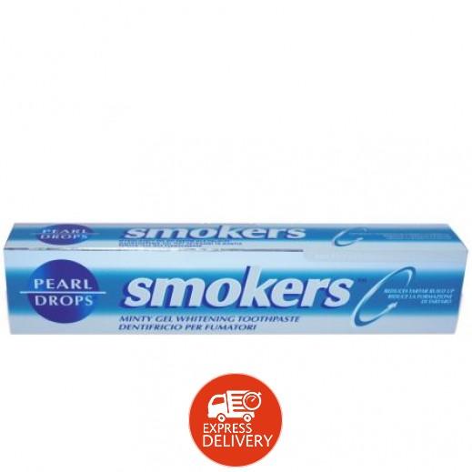 بيرل دروبس – معجون أسنان بالنعناع لتبييض الأسنان للمدخنين 75 مل