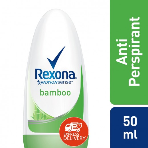 """ريكسونا – مزيل رائحة العرق """" بامبو """" للسيدات 50 مل"""