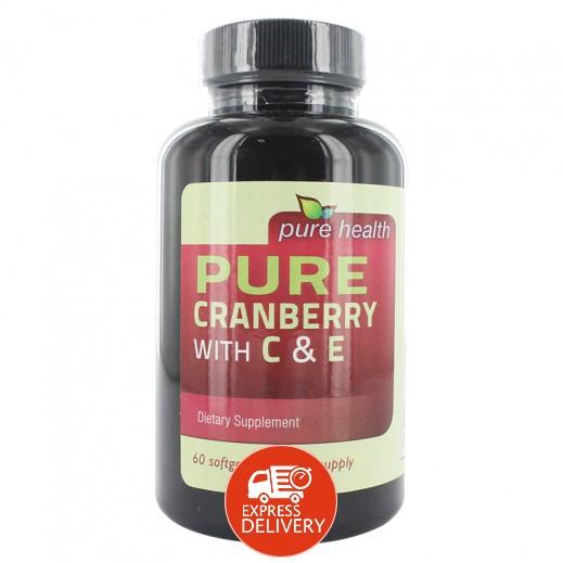 بيور هيلث – مكمل غذائي بالتوت البري يحتوى على فيتامين  C&E