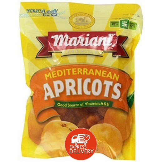 مارياني – مشمش مجفف خالي من الجلوتين 170 جم