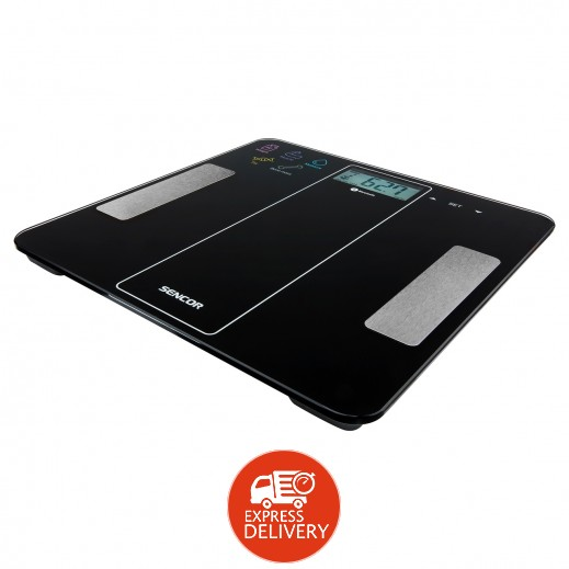 Sencor Bluetooth Fitness Scale SBS8000BK
